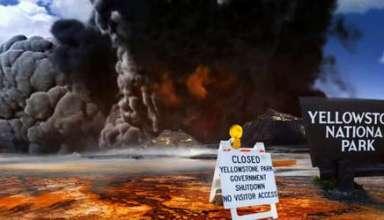 supervolcan de yellowstone 384x220 - Expertos advierten que el supervolcán de Yellowstone podría entrar en erupción este año