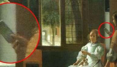 jefe apple iphone pintura 384x220 - Jefe de Apple asegura haber visto un iPhone en una pintura de hace 350 años