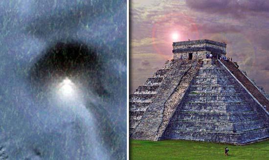 Enorme pirámide origen extraterrestre México