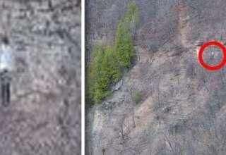 extrana figura sin rostro montana canada 320x220 - Excursionistas fotografían una extraña figura sin rostro en una montaña de Canadá