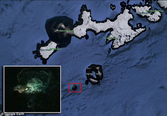 legendario kraken google earth - Encuentran al legendario Kraken a través de Google Earth