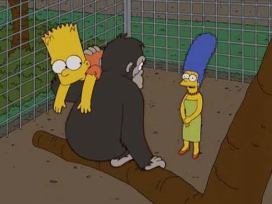 los simpson harambe - Una vez más, 'Los Simpson' predicen el futuro: Esta vez, la historia del gorila Harambe