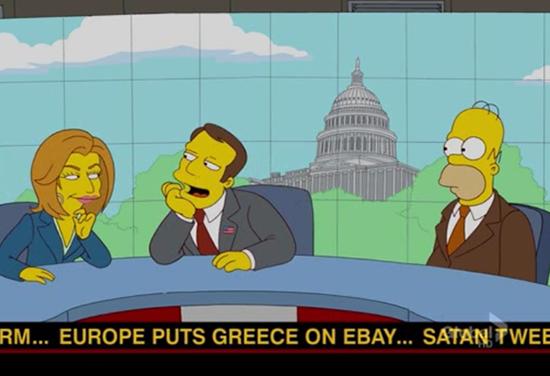 Los Simpson predicen el futuro Harambe