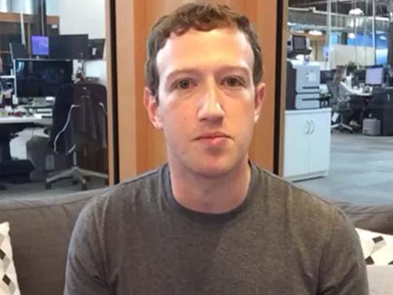 Mark Zuckerberg no es reptiliano