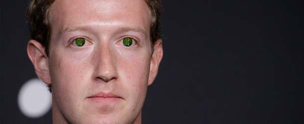 mark zuckerberg reptiliano - Mark Zuckerberg asegura que no es un reptiliano
