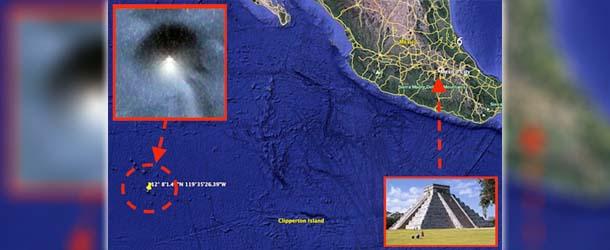 piramide origen extraterrestre mexico - Descubren una enorme pirámide de origen extraterrestre frente la costa de México