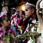 La Santa Muerte, entre la luz y la oscuridad