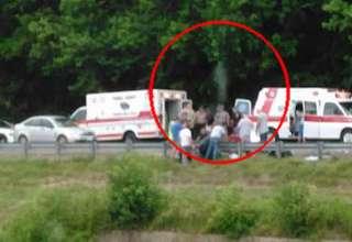 alma motorista muerto 320x220 - Fotografían el alma de un motorista muerto abandonado su cuerpo en el lugar del accidente