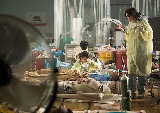 Pentágono enfermeras apocalipsis zombi