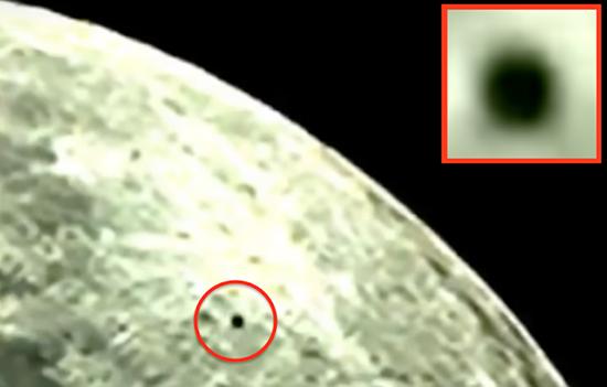 extrana esfera negra sobre luna - Astrónomo avista una extraña esfera negra sobre la Luna durante una emisión en directo
