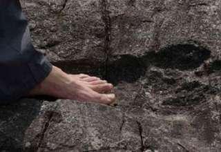 huellas fosilizadas humanas gigantes 320x220 - Hallan huellas fosilizadas humanas gigantes en China