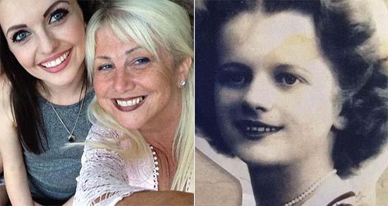 cara madre muerta mirando ventana casa - Mujer británica fotografía la cara de su madre muerta mirando por la ventana de su casa