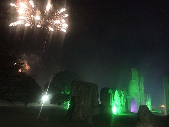 Fantasma de un monje abadía Glastonbury