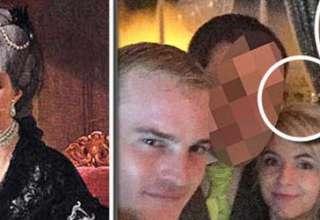 fantasma reina britanica selfie 320x220 - El fantasma de una reina británica aparece en un selfie nupcial