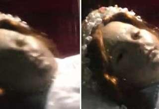 nina murio 300 anos abre ojos 320x220 - Turista graba el sorprendente momento en que una niña que murió hace 300 años abre los ojos