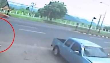 alma nina abandonado cuerpo 384x220 - Vídeo muestra el alma de una niña abandonando su cuerpo después de un accidente de moto