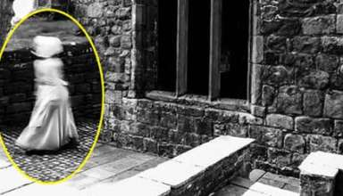 figura fantasmal castillo inglaterra 384x220 - Fotografían una asombrosa figura fantasmal en un castillo de Inglaterra