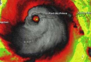 huracan matthew muestra rostro demoniaco 320x220 - Imagen de satélite del huracán Matthew muestra un rostro demoníaco