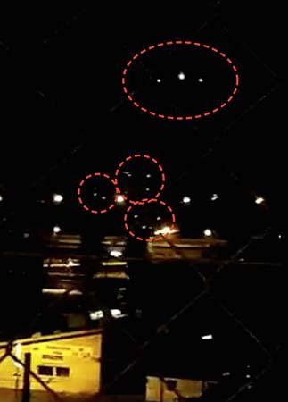ovni ginebra - Cientos de testigos ven un enorme OVNI sobre Ginebra