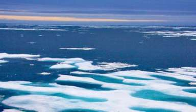misterioso sonido artico 384x220 - El ejército canadiense investiga un misterioso sonido que emerge del mar en el Ártico