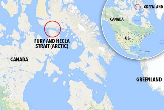 misterioso sonido mar artico - El ejército canadiense investiga un misterioso sonido que emerge del mar en el Ártico