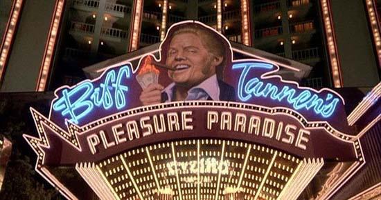 Regreso al futuro II Clinton Presidenta
