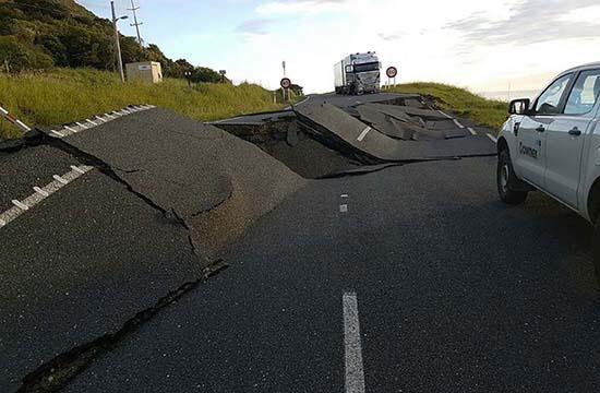 Terremoto Nueva Zelanda debido Superluna