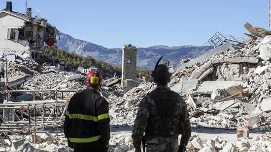 Terremotos en Italia