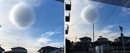 extrana nube esferica japon - Una extraña nube perfectamente esférica causa el pánico entre los habitantes de Japón