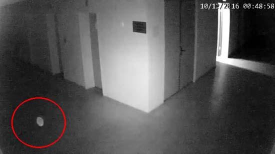 orbe fantasmal campo concentracion sovietico - Cámaras de seguridad captan un orbe fantasmal flotando en antiguo campo de concentración soviético