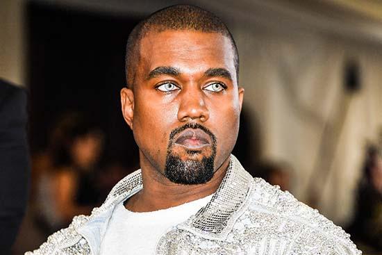 Rapero Kanye West semilla estelar