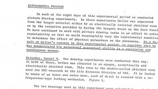 cia capacidades psiquicas uri geller - Documentos desclasificados revelan que la CIA estaba convencida de las capacidades psíquicas de Uri Geller