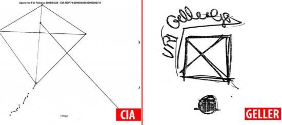 documentos desclasificados cia uri geller - Documentos desclasificados revelan que la CIA estaba convencida de las capacidades psíquicas de Uri Geller