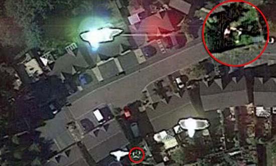 google earth muestra abduccion extraterrestre - Aseguran que una imagen de Google Earth muestra una abducción extraterrestre