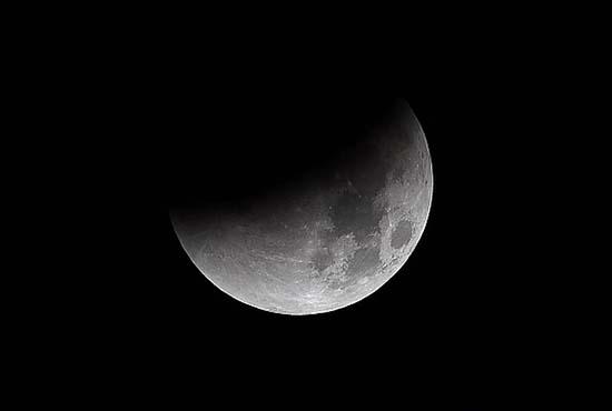 luna nieve - Luna de Nieve, acercamiento de un cometa y un eclipse lunar este viernes por la noche, ¿señales apocalípticas?