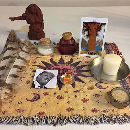 magia negra presidente trump - Brujas de todo el mundo realizan un ritual de Magia Negra en masa contra el presidente Trump
