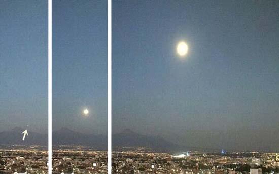 ovni volcan popocatepetl - Extraño OVNI surge del interior del volcán Popocatépetl en México