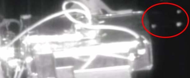 ovnis estacion espacial internacional - Medios estadounidenses informan de la presencia de seis ovnis cerca de la Estación Espacial Internacional