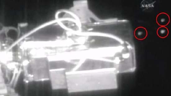 Medios estadounidenses informan de la presencia de seis ovnis cerca de la Estación Espacial Internacional