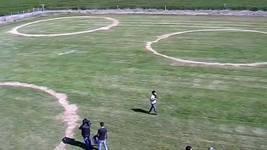 extranos circulos campo argentina - Científicos desconcertados por la aparición de extraños círculos en un campo de Argentina