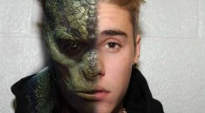 Cientos de fans afirman haber visto a Justin Bieber convertirse en un reptiliano