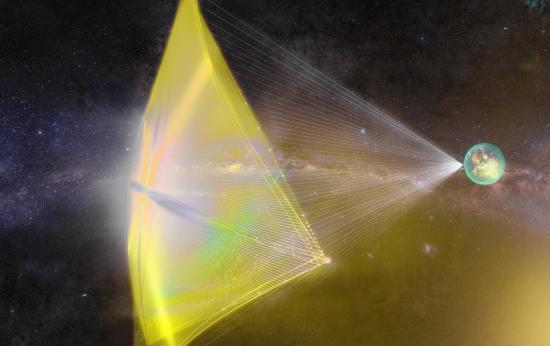 senales cosmicas - Científicos de Harvard creen que las misteriosas señales cósmicas son para propulsar naves extraterrestres