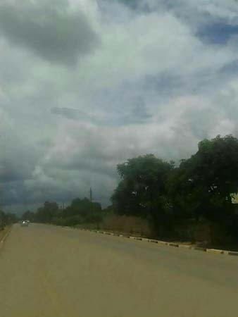 zambia dementor harry potter - Pánico en Zambia por la aparición en el cielo de una extraña criatura similar a un 'dementor' de Harry Potter