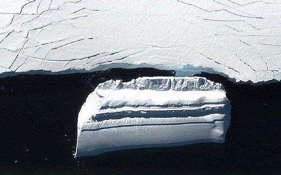base extraterrestre en forma iceberg - Descubren una base extraterrestre en forma de iceberg cerca de la costa antártica