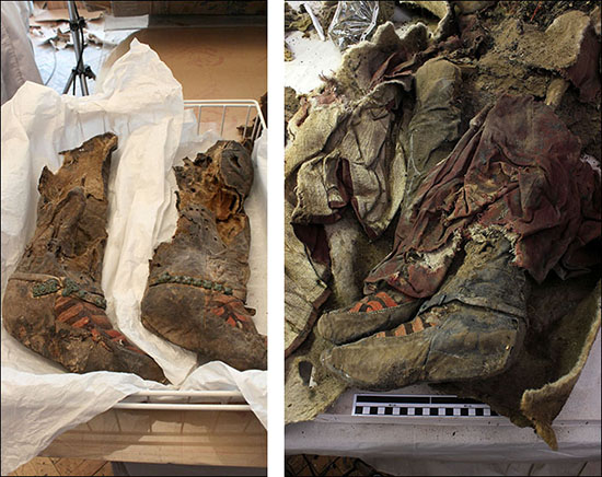 momia 1500 anos botas adidas - Científicos continúan desconcertados con el hallazgo en Mongolia de una momia de 1.500 años con botas Adidas
