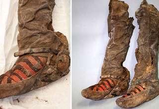 momia botas adidas 320x220 - Científicos continúan desconcertados con el hallazgo en Mongolia de una momia de 1.500 años con botas Adidas