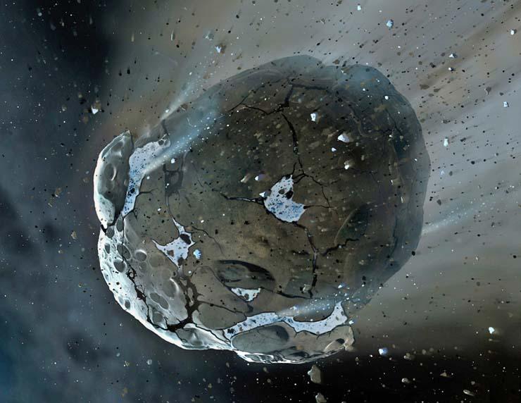 cinco asteroides peligrosos - La NASA advierte que cinco asteroides peligrosos podrían impactar contra la Tierra este año