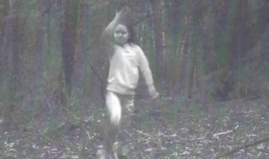 La imagen de la supuesta niña fantasma de Cambridge, Nueva York