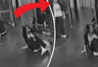 fantasma espejo 320x220 - Inquietante vídeo muestra un fantasma en el espejo de un centro de baile