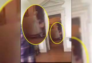 figura fantasmal sirvienta 320x220 - Escalofriante vídeo muestra la figura fantasmal de una sirvienta que murió en el siglo 18 en un palacio estadounidense